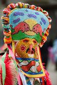 Maskeli balo maskesi - kukeri — Stok fotoğraf