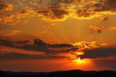 Pôr do sol de beleza — Foto Stock