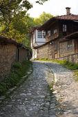 Street im jeravna village — Stockfoto