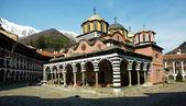 Kostel rilski monatery — Stock fotografie