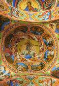 древние фрески от рильский монастырь — Стоковое фото
