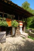 Il cortile di una casa di antico bulgaro — Foto Stock