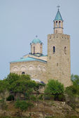 The church in the Tzarevets fortress in Veliko Tarnovo, Bulgaria — Stock Photo