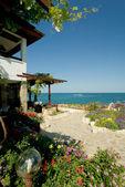 Sea-side villa — Stock Photo