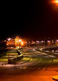 Nessebar at night — Stock Photo