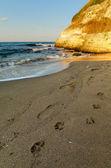 Sunset beach — Stockfoto