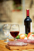 Red wine still life — Stock Photo