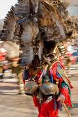 Bulgarian traditional masquerade mask - kukeri — Stock Photo