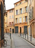 Rua em aix en provence, frança — Foto Stock