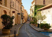 Street in old Aix en Provence — Stock Photo