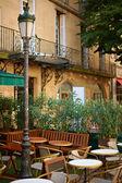 Restaurant in Aix-en Provence — Stock Photo