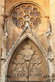 Detail fron Saint-Saveur cathedral in france — Stock Photo