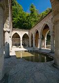 Architecture in Balchik palace — Stock Photo