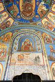 Old murals from Batoshevo monastery, Bulgaria — Stock Photo