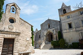 Church and cethedral in Baux de Provence — Stock Photo