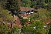 Zheravna roofs — Stock Photo
