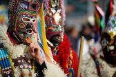 Tradycyjne postu maski — Zdjęcie stockowe