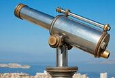 Vintage telescope — Stock Photo