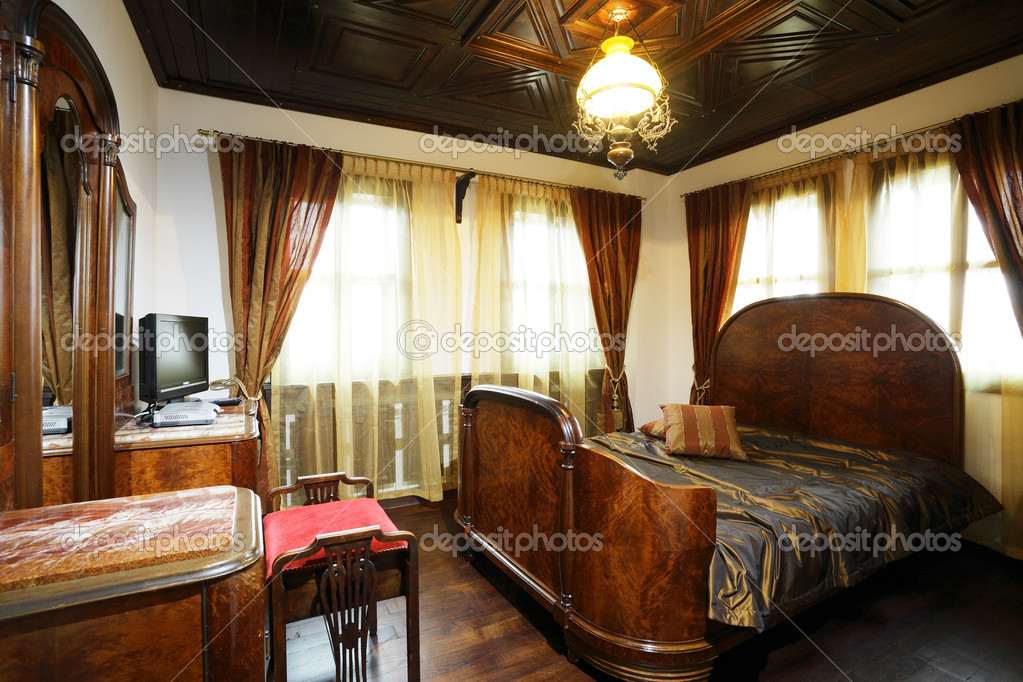 Hotel Met Bad In Slaapkamer : Oude stijl hotel slaapkamer ...
