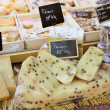 French cheese to sell — Zdjęcie stockowe