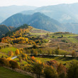 Autumn colors in mountain — Stock Photo