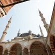 Stock Photo: Inner yard of Selimie mosque