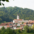 Slovenian village Visnja Gora — Stock Photo