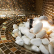 Stock Photo: Detail from steam bath