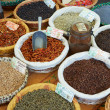 Royalty-Free Stock Photo: Random spices for sale