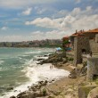 Stock Photo: Overview of town of Sozopol, Bulgaria