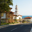 Stock Photo: Street in Sveti Vlas, Bulgaria