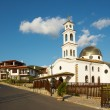 Stock Photo: New church in Sveti Vlas