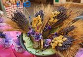 Lawenda w prowansji rynku — Zdjęcie stockowe
