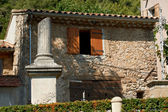 Stone house in French Provence — Stock Photo