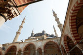Inner yard of Selimie mosque — Stock Photo