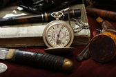 Old watch still-life — Stock Photo