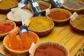 Paprica, curcuma and other spices — Stock Photo