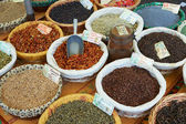 Random spices for sale — Stock Photo