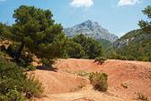 Saint Victoire mountain in France — Stock Photo