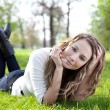 Woman in park — Stock Photo #9123627