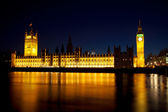 Big Ben in the evening — Stock Photo