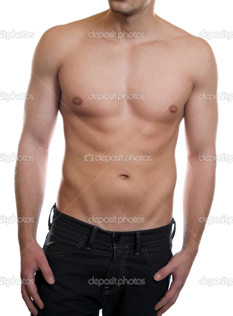 Man with a toned muscular body — Stock Photo #9123776