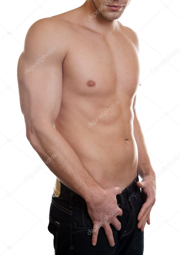 Man with a toned muscular body — Stock Photo #9123853