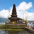 Pura Ulun Danu temple Bali — Stock Photo