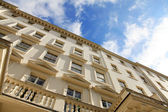 Georgian style windows — Stock Photo