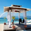 Stock Photo: Beach weddings pavillion in Gili islands