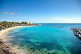 Piękna plaża — Zdjęcie stockowe