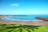 Beach in Playa de las Americas, Tenerife — Stock Photo