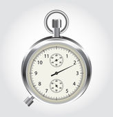Vector stop watch in high detail — Stock Vector