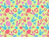 P_rabbit — Stock Vector